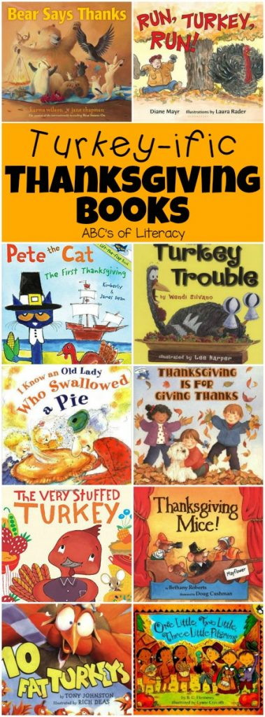 Thanksgiving Books, Thanksgiving Picture Books, Thanksgiving Books for Kids, Children's Books, Book Lists, Turkey Books