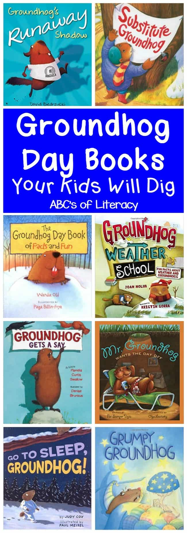 Groundhog Day Books, Groundhog Day, Holiday Books, Children's Books