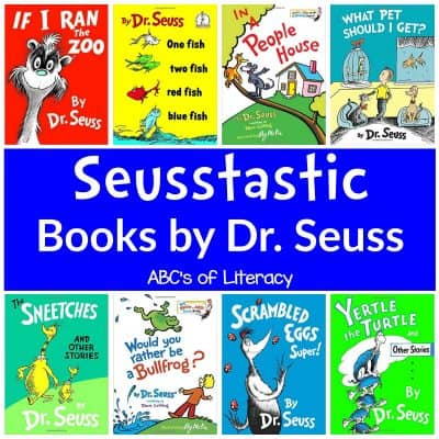 60 Seusstastic Books By Dr. Seuss