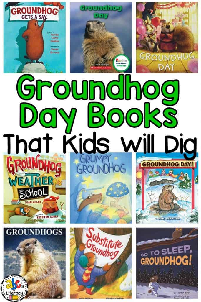 Groundhog Day Books, Groundhog's Day Books, Groundhog's Day Activities