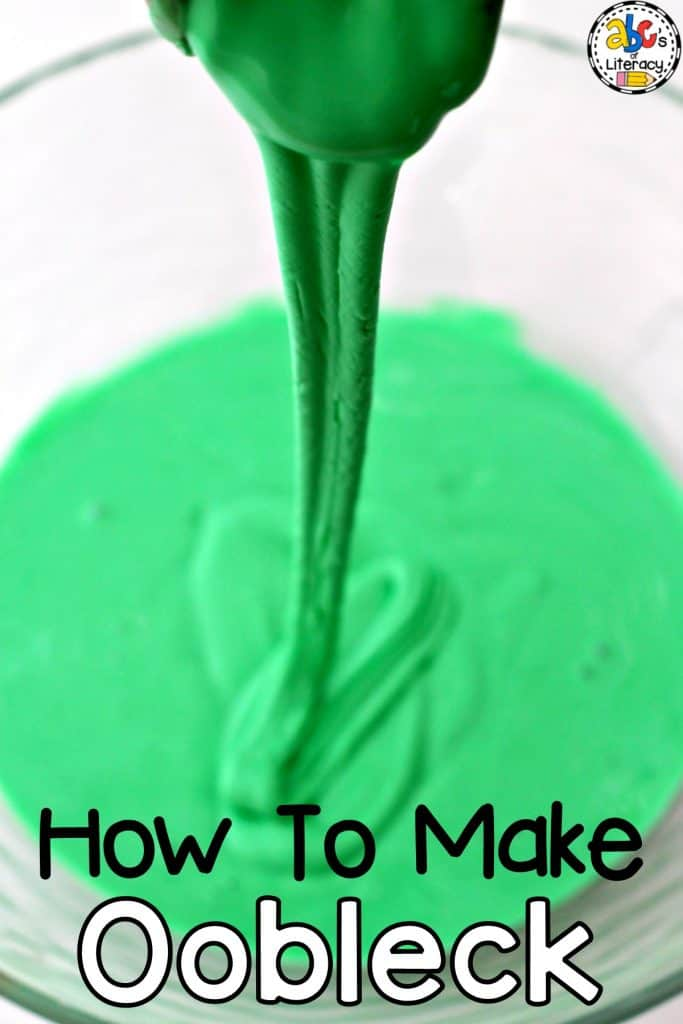 How To Make Oobleck Like Bartholomew And The Oobleck By Dr