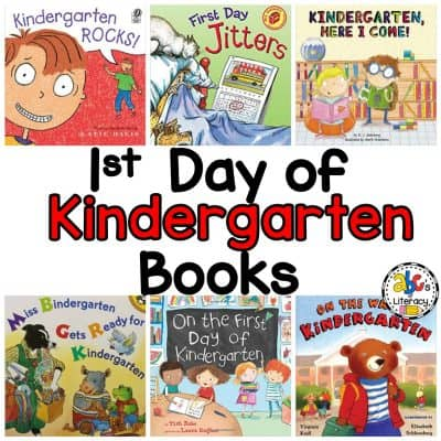 10 Books About Starting Kindergarten