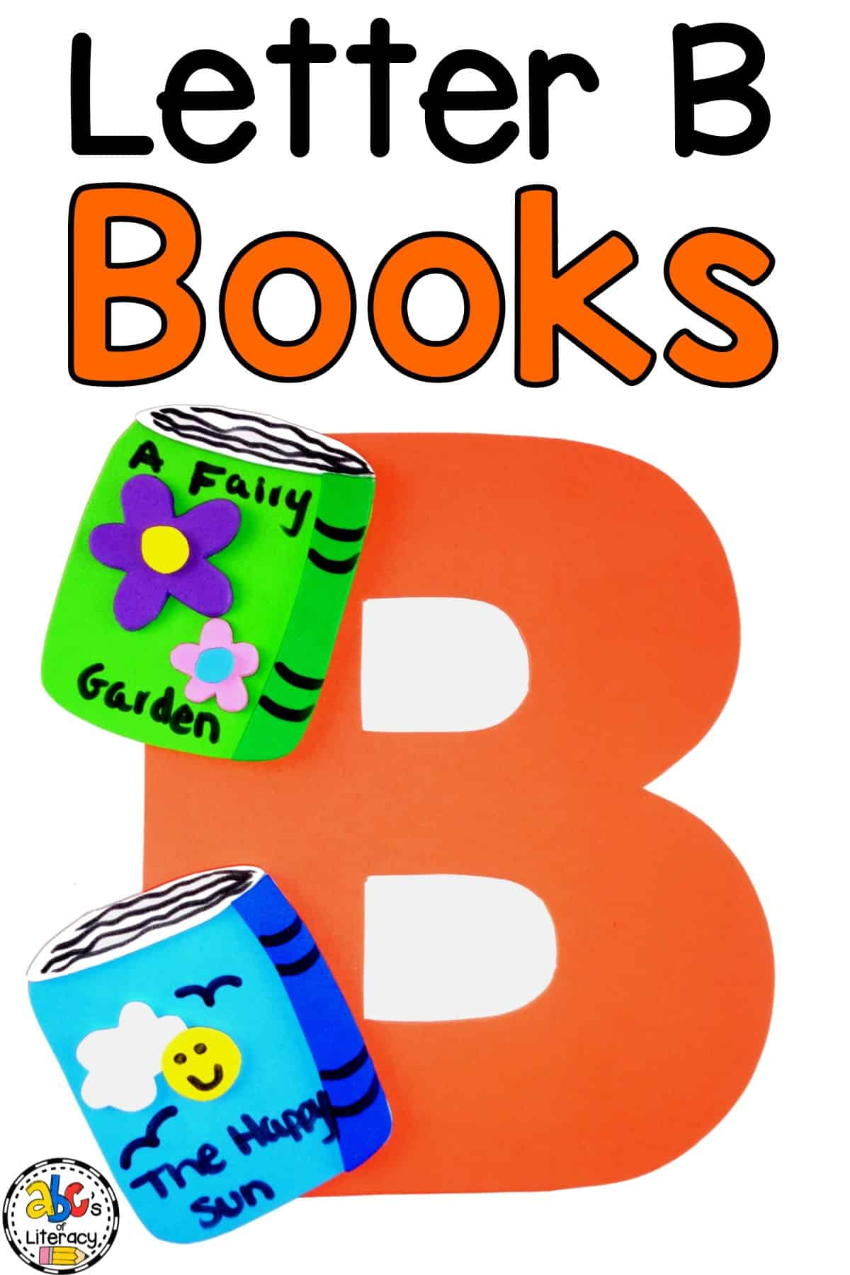Letter B Craft, Books Craft, Letter of the Week, Letter of the Week Craft, Letter B Books Craft