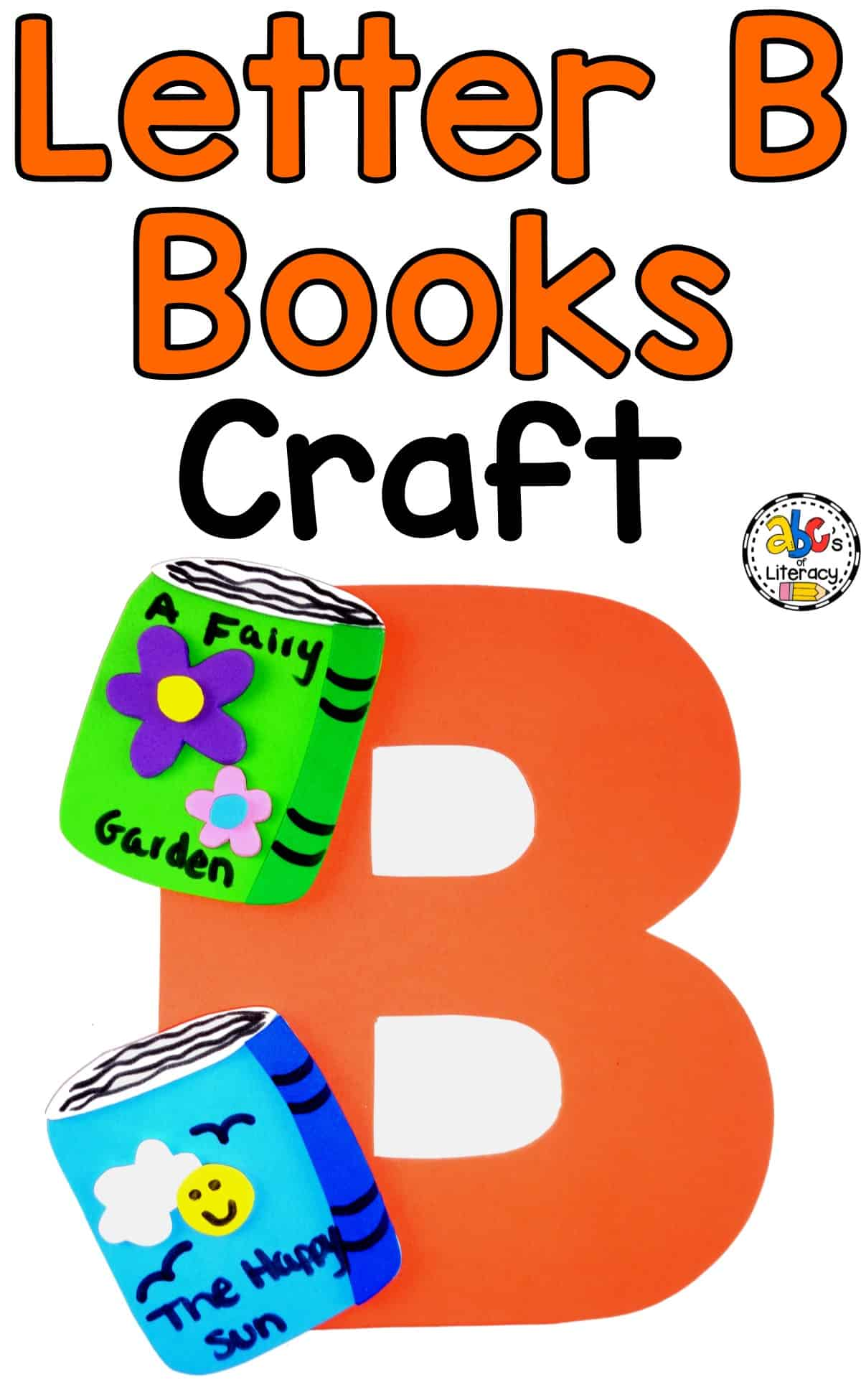 Letter B Books Craft, Letter B Craft, Letter of the Week, Letter Activities, Alphabet Activities