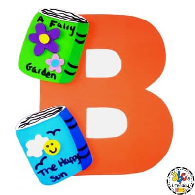 Letter B Books Craft