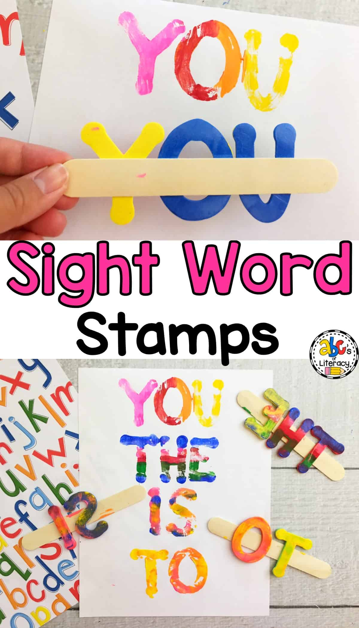 Sight Word Stamps, Sight Word Activities, Word Work Activities