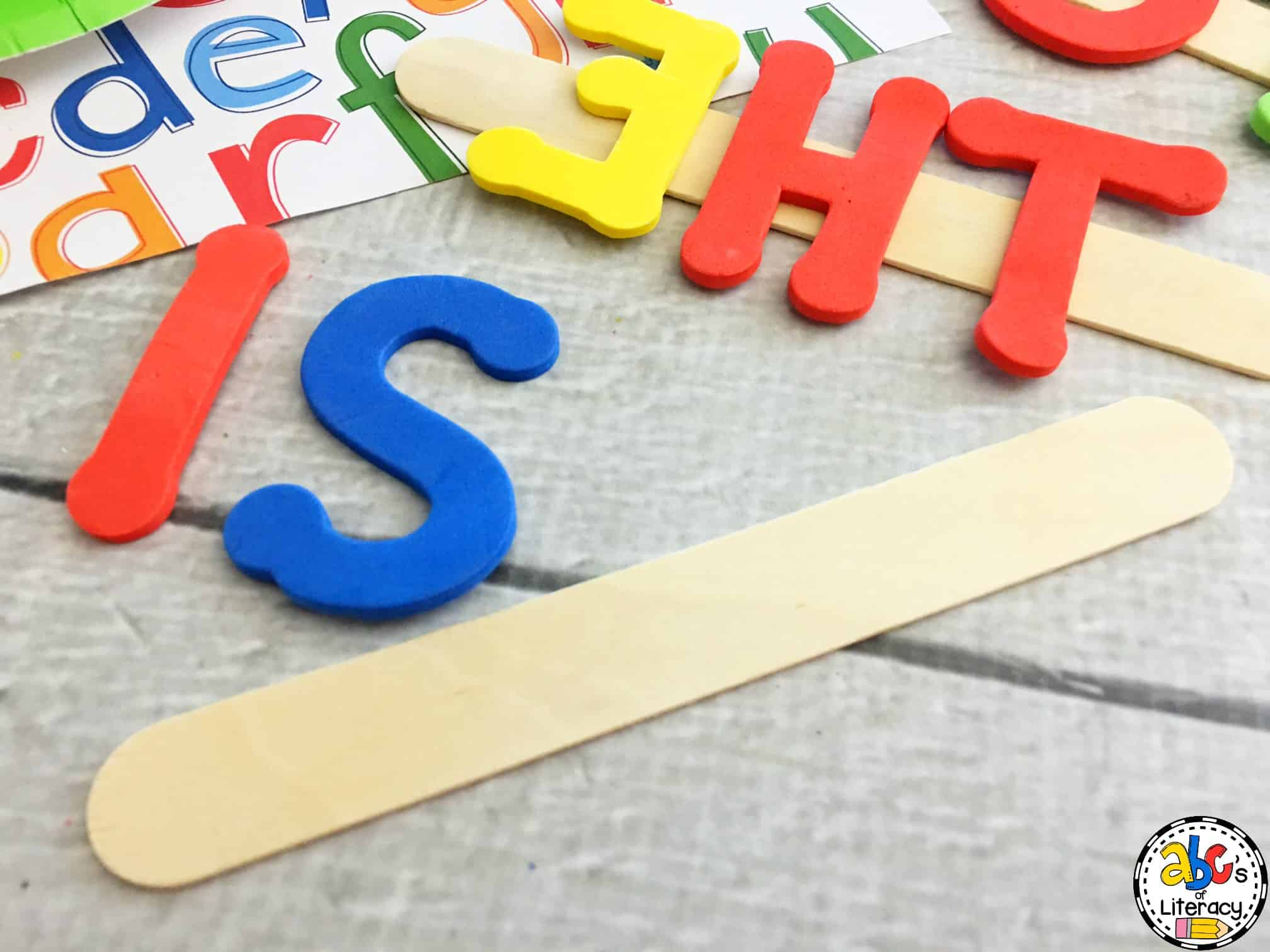 How to make sight word stamps for literacy centers you can make stamps for the dolch or fry sight words that your students are working on for the quarter the children can also make other words that they are sciox Image collections