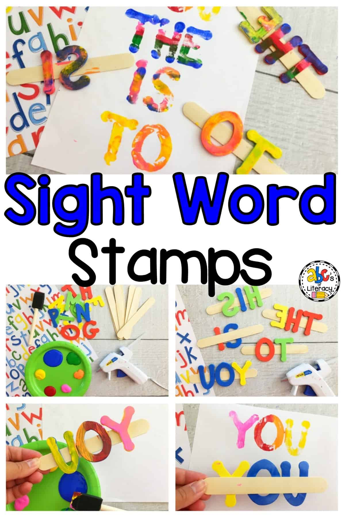 Sight Word Stamps