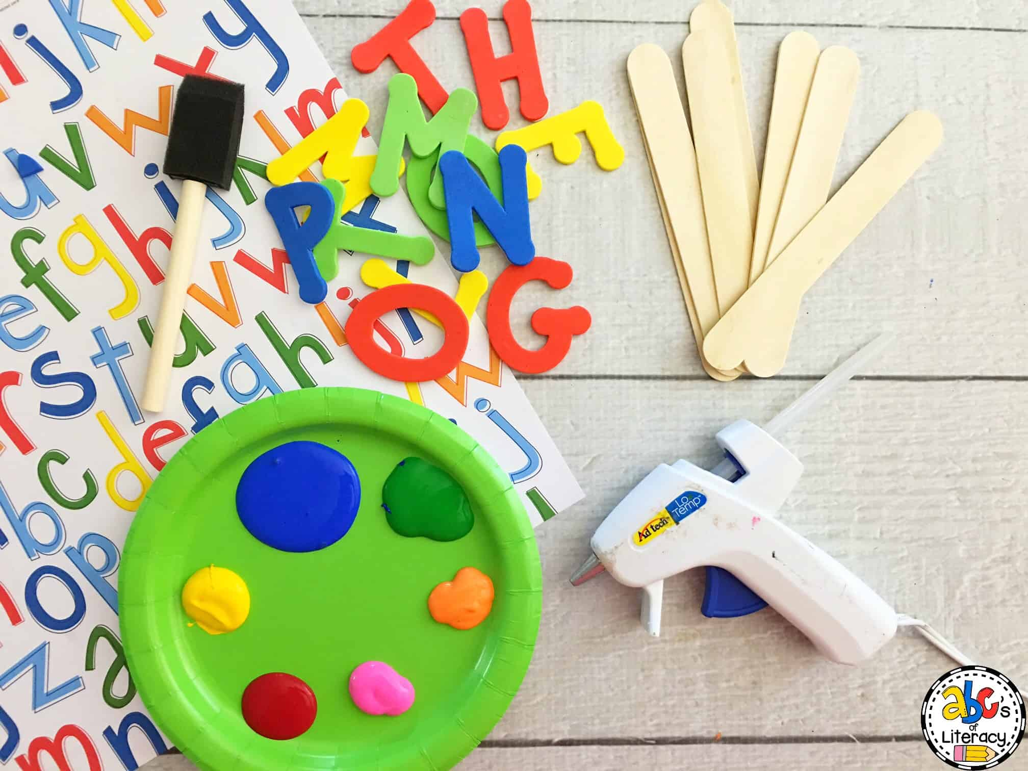 How to make sight word stamps for literacy centers directions before making your sight word stamps sciox Image collections