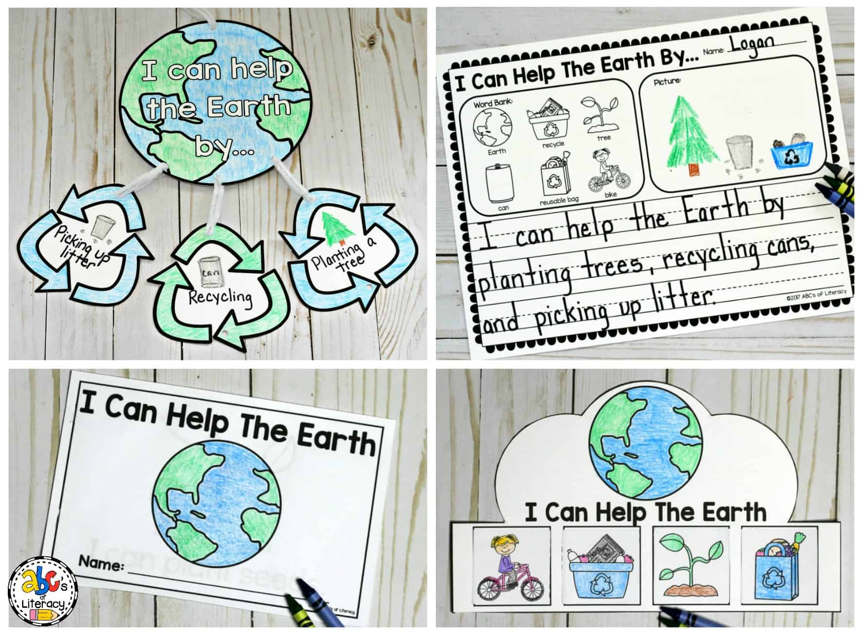 Classroom Ideas For Earth Day ~ Earth day classroom activities for early elementary