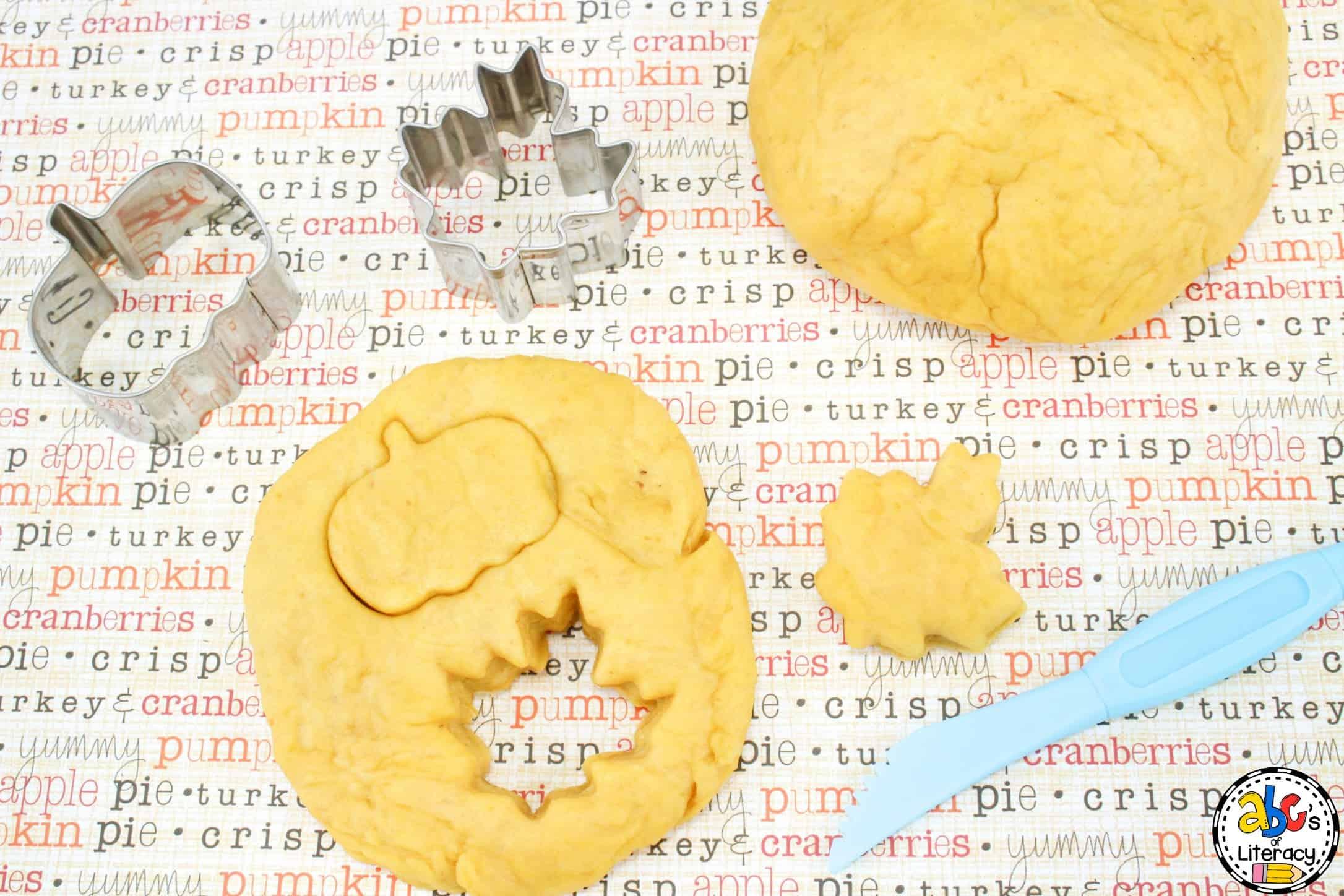 Pumpkin Play Dough, Pumpkin Play dough, Fall Play Dough, Sensory Activity