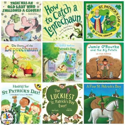 Over 20 St. Patrick's Day Books