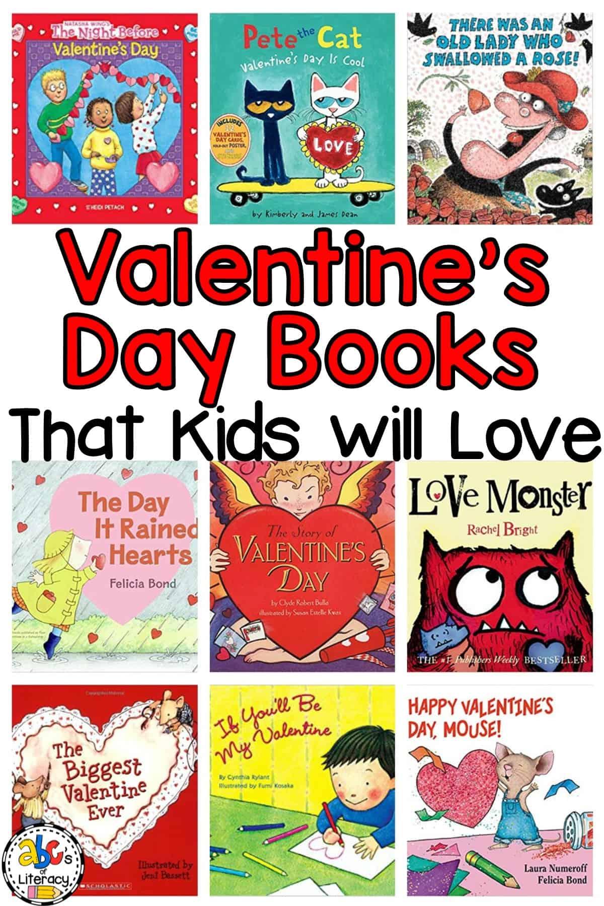 Valentine's Day Books That Kids Will Love, Valentine's Day Books, Valentines Day Books, Valentine Books