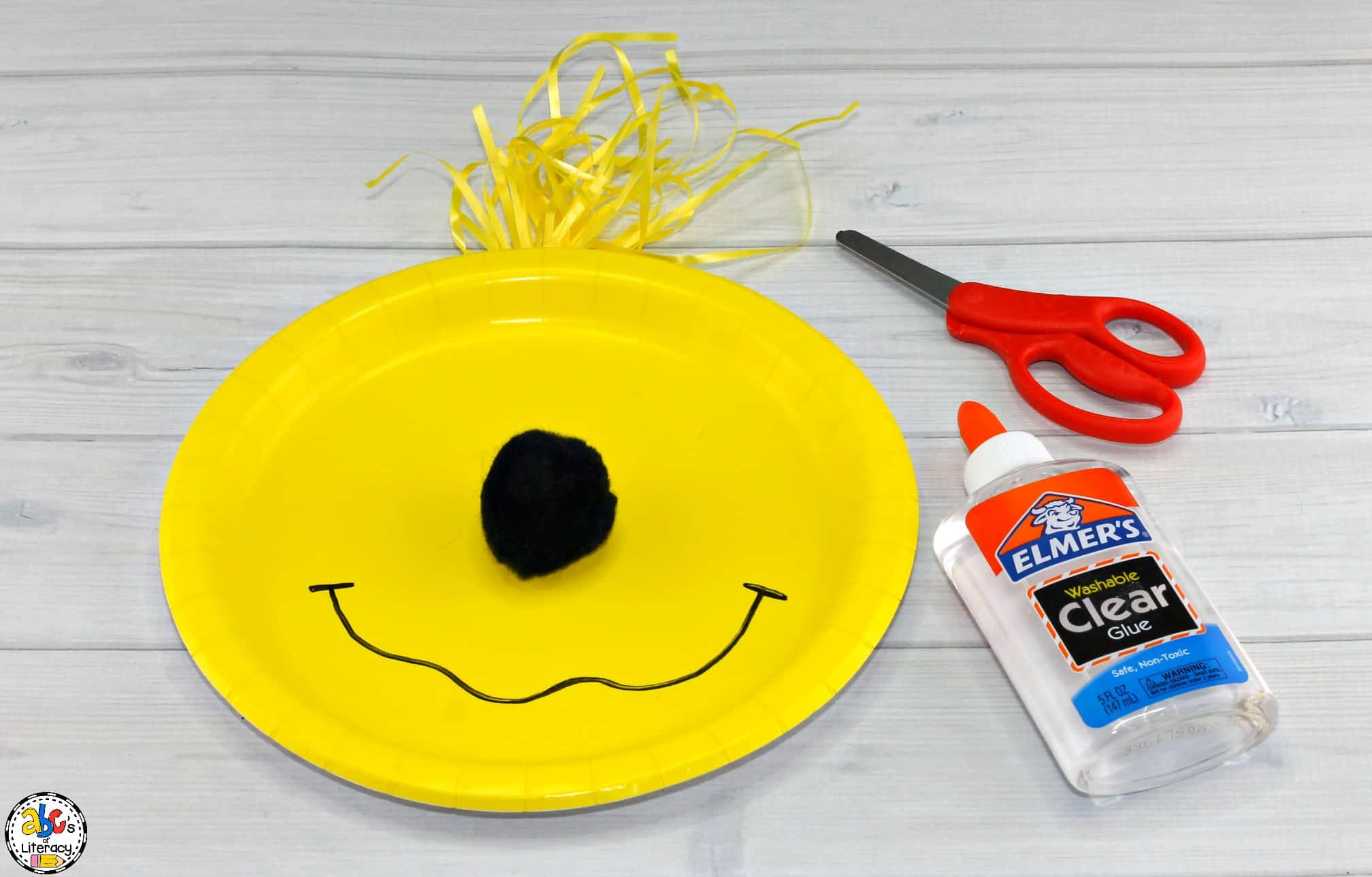 How To Make The Sleep Book Paper Plate Craft For Dr. Seuss Day