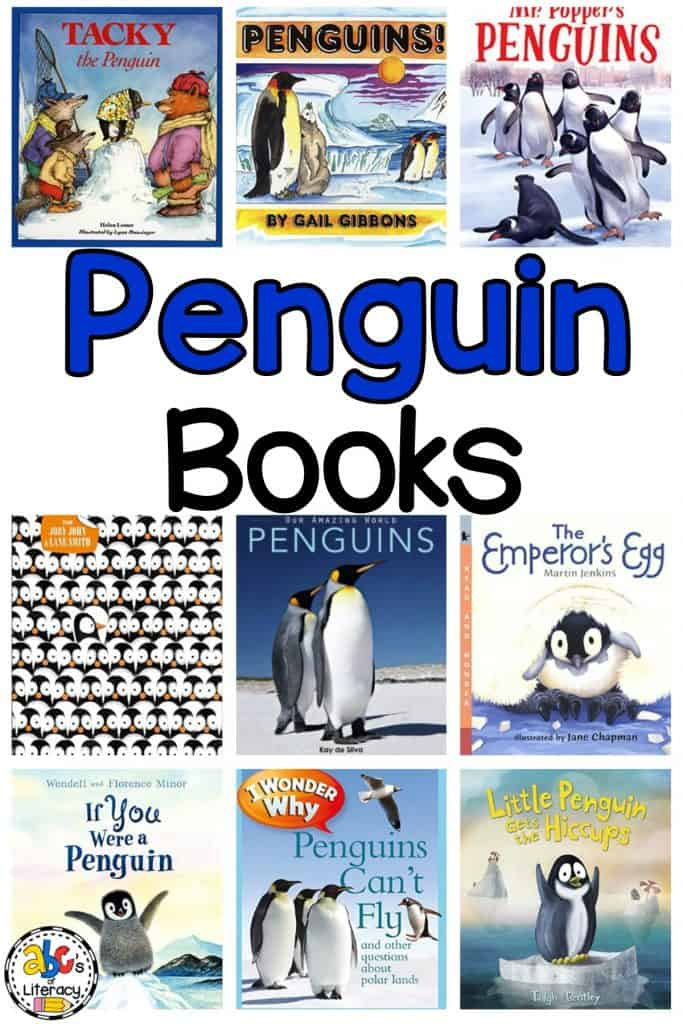 Penguin Books, Penguin Activities, Penguin Read Alouds, Penguin Picture Books