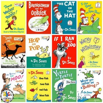 Over 60 Seusstastic Books By Dr. Seuss