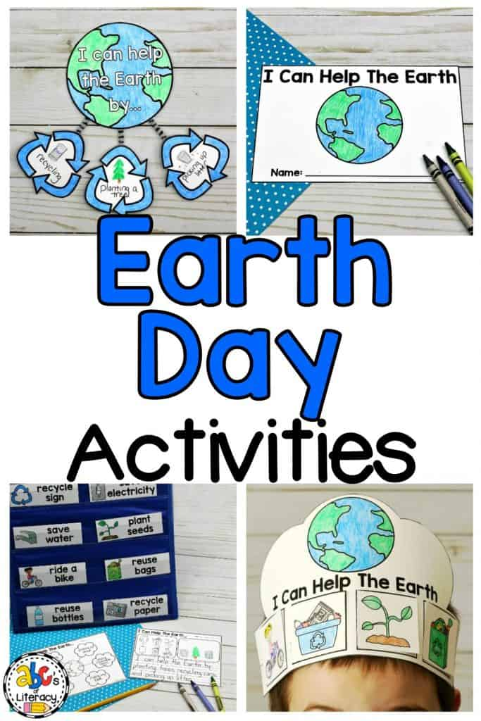 Earth Day Activities, Earth Day Writing Activities, Earth Day Writing Prompt, Earth Day Craft, Earth Day Mobile Craft, Earth Day Crown, Earth Day Word Web, Earth Day Word Wall Words