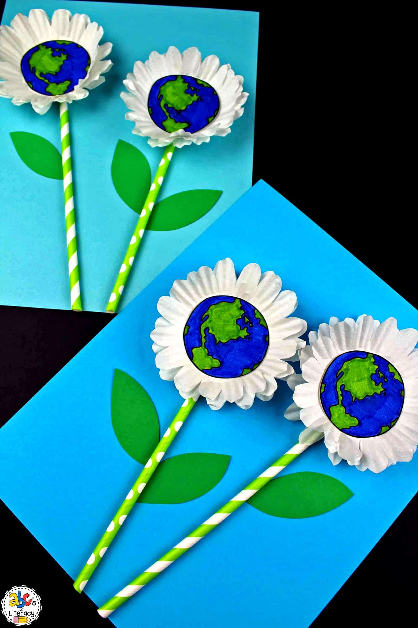 Earth Day Flower Craft, Earth Day Craft, Flower Craft, Earth Day Activities, Earth Day
