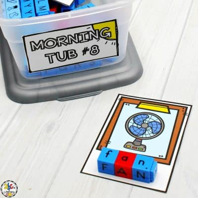 How To Organize & Set-Up Your Morning Tubs