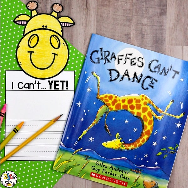 The Power of Yet Writing Craft is a fun and creative growth mindset activity. This craftivity is perfect for your students to complete after reading the book, Giraffes Can't Dance by Giles Andreae.