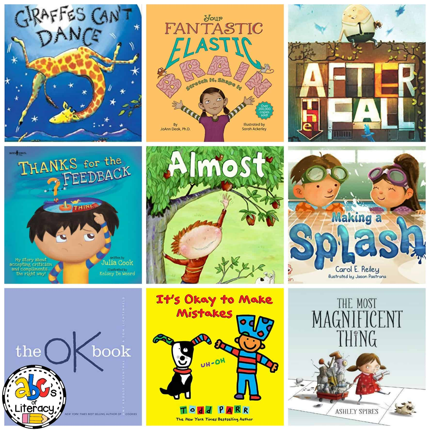 Growth Mindset Books, Books To Teach Growth Mindset, Growth Mindset Picture Books, Growth Mindset Read Aloud Books, The Power Of Yet Books