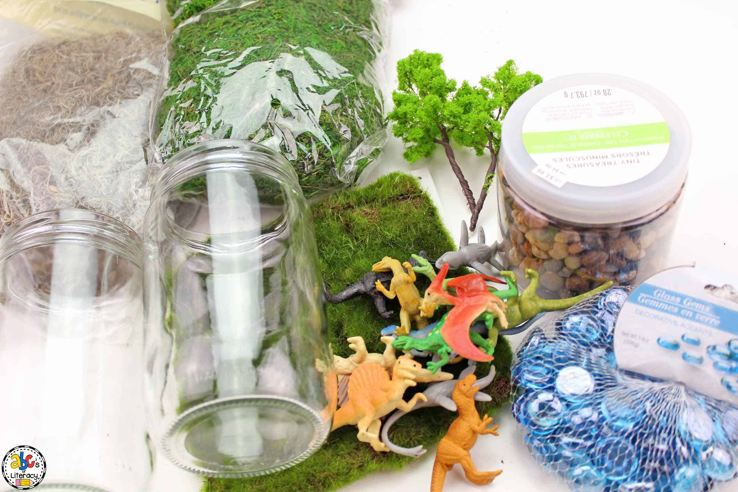 supplies needed for your dinosaur craft