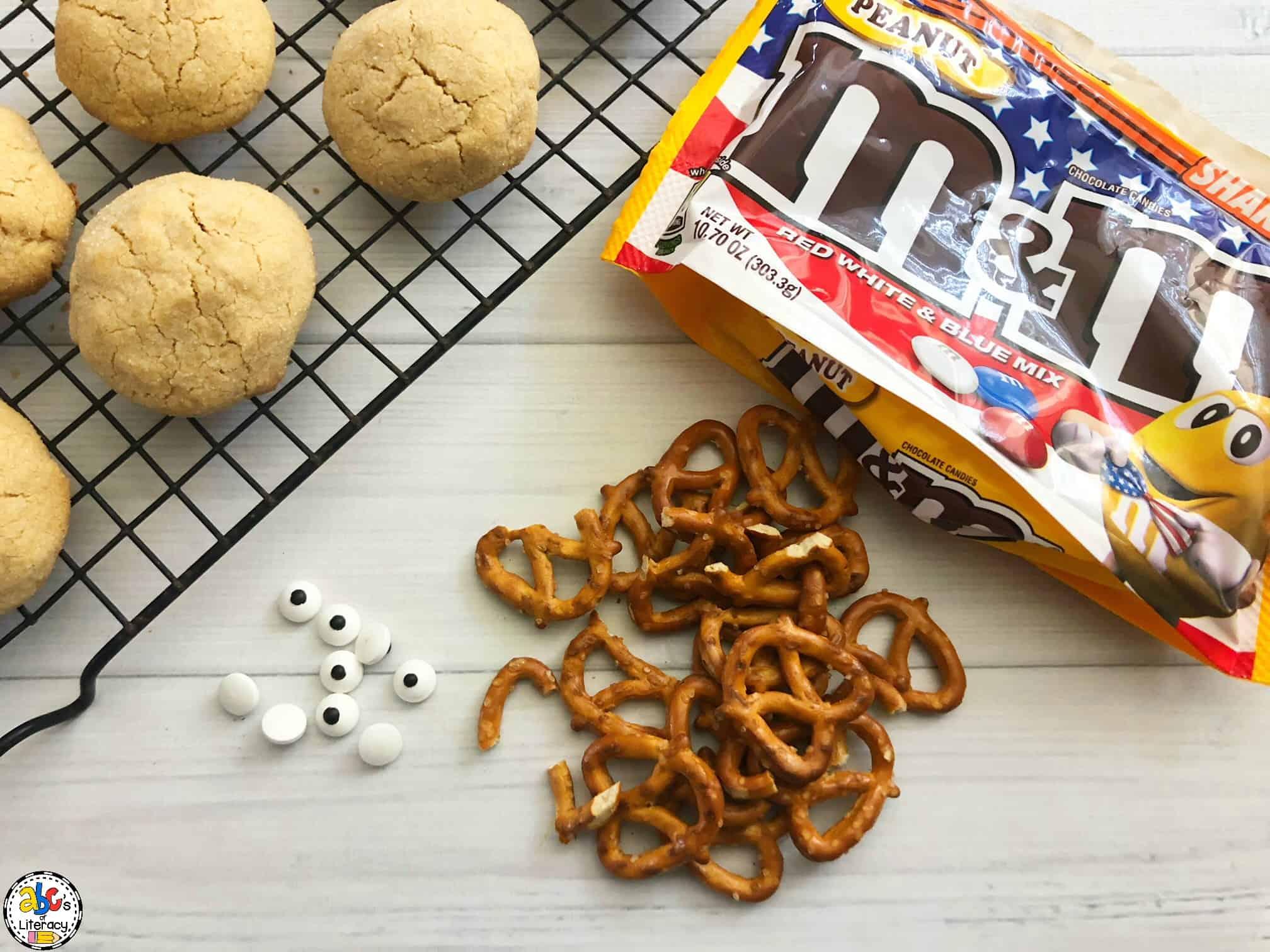 ingredients needed for rudolph cookies
