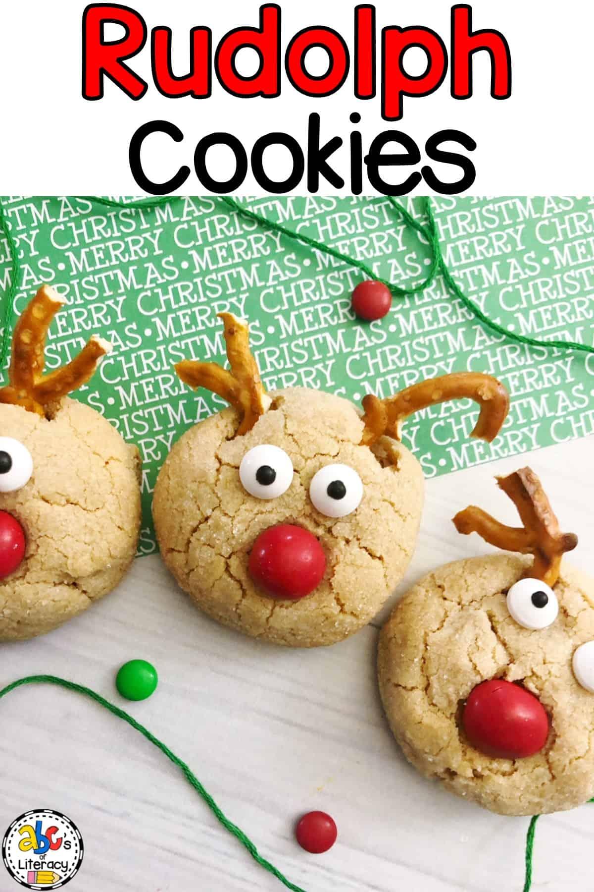 Homemade Rudolph Cookies