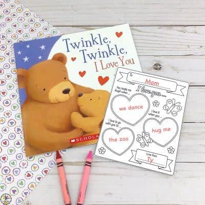 """I Love You…"" Writing Activity: Valentine's Day Keepsake"