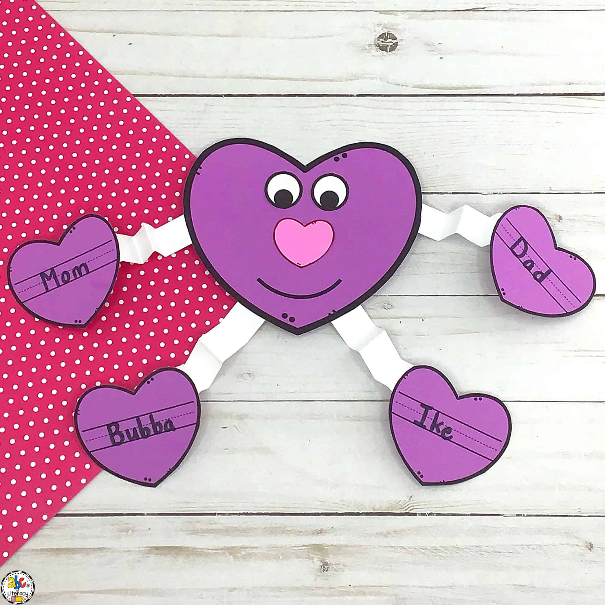 Heart Guy: Valentine's Day Craft for Kids