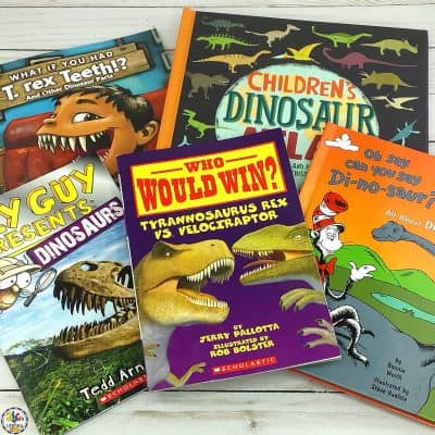 Dinosaur Books For Your Future Paleontologists