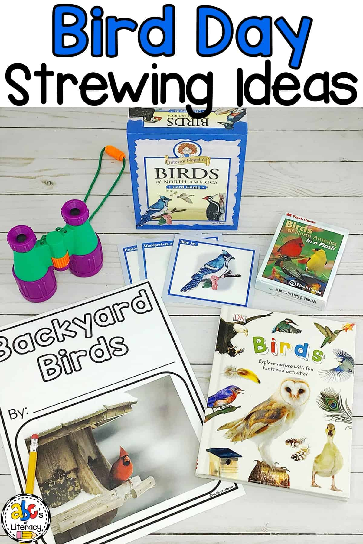 From books to games to hands-on activities, there are a lot of National Bird Day Strewing Ideas that your children will use to learn all about birds.