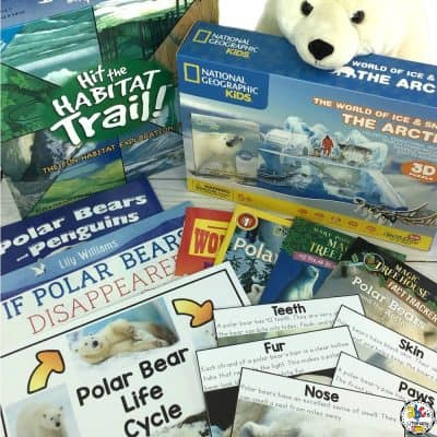 Polar Bear Morning Basket