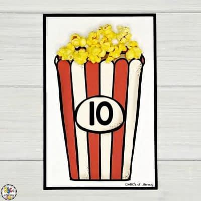 Popcorn Counting Mats
