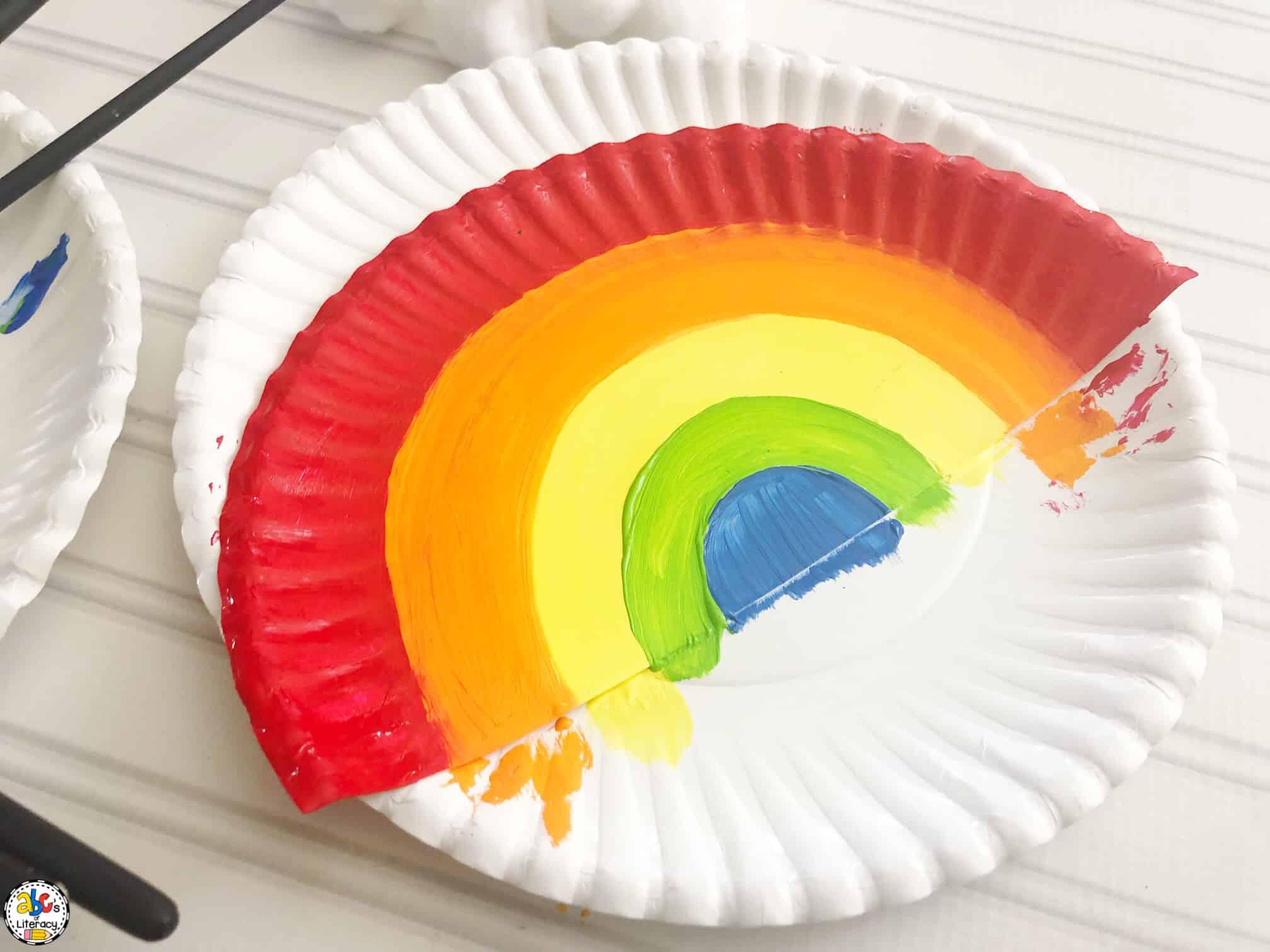 Rainbow Painting Craft