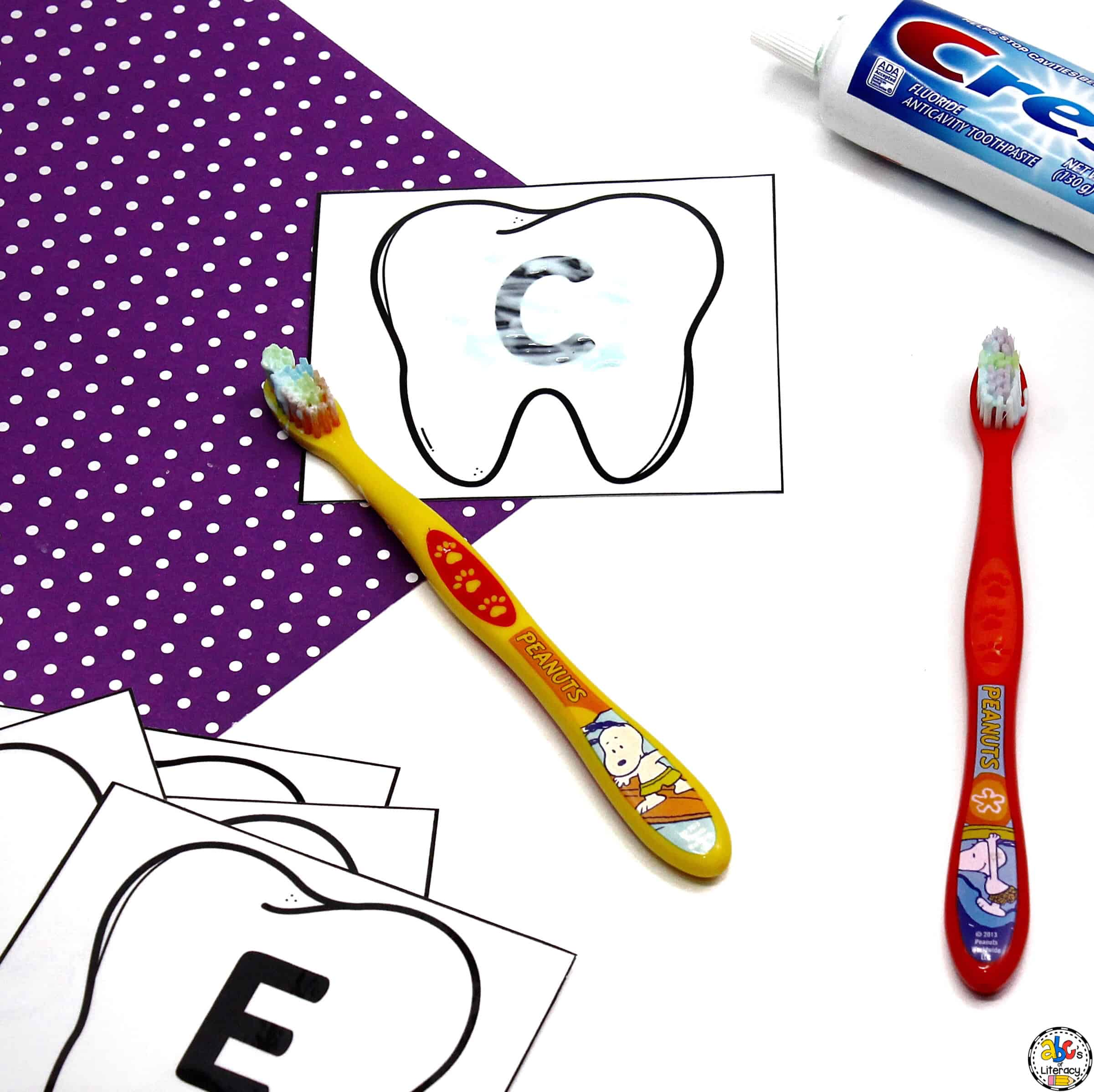 Letter Knowledge Activity: Learning Letters