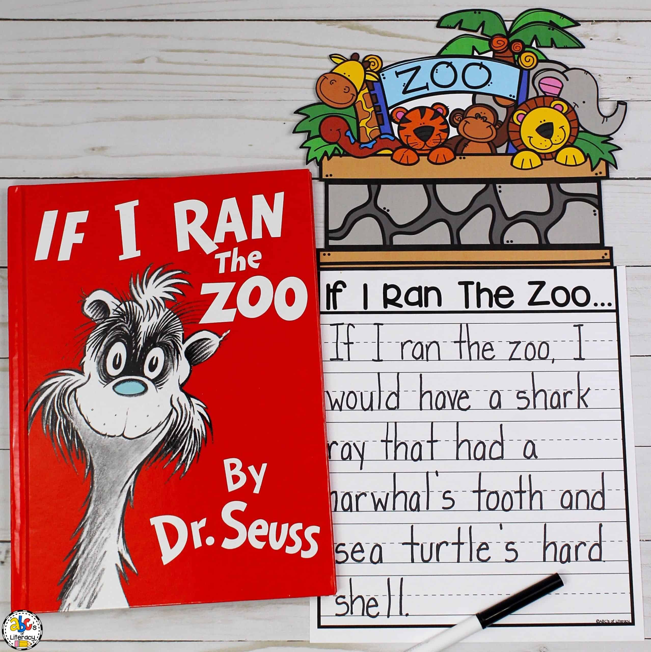 If I Ran The Zoo Inspired Writing Activity For Kids