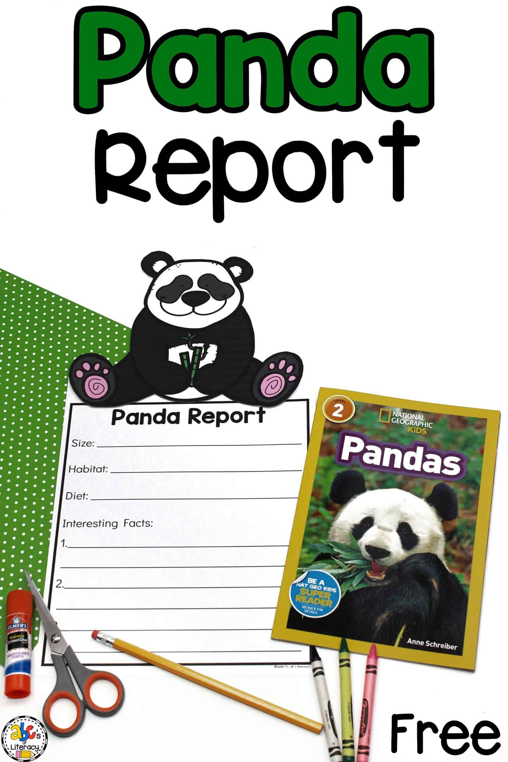 Panda Report Template and Panda Page Topper