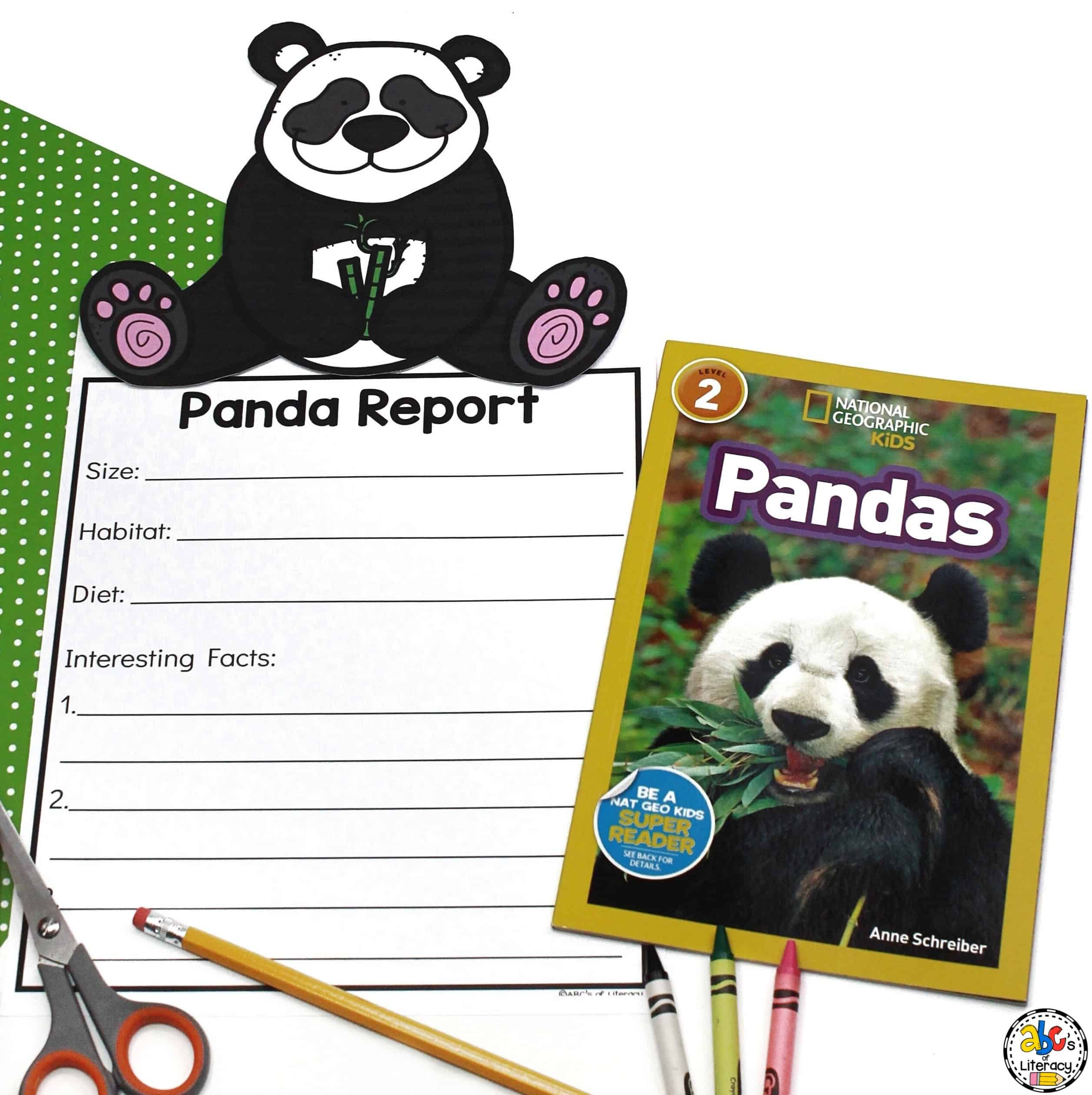 Panda Report and Informational Text
