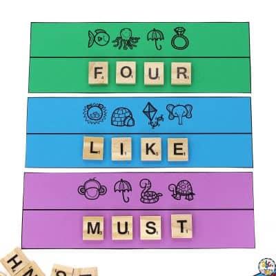 Sight Word Secret Code Puzzles